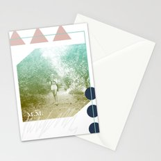 M.M. Collage Stationery Cards