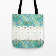 Art Deco Double Drop In … Tote Bag