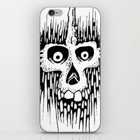 Skully Line iPhone & iPod Skin