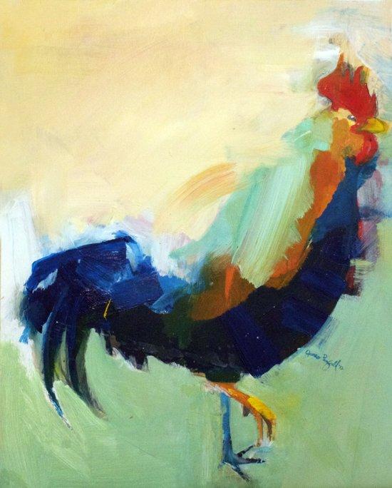 """""""Deep Rooster"""" Art Print"""