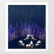 Once Upon A Time In Stor… Art Print