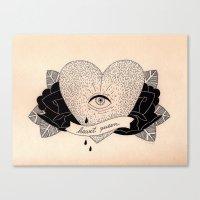 Heart Queen Canvas Print