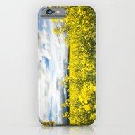 Fields Of Yellow iPhone 6 Slim Case
