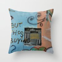 But whos Buying?  Throw Pillow