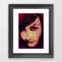 Strange Girl Framed Art Print