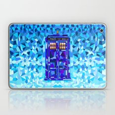 Phone booth Tardis doctor who cubic art iPhone 4 4s 5 5c 6, pillow case, mugs and tshirt Laptop & iPad Skin