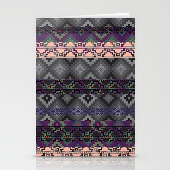 Russian style inspired Aztec Stationery Card