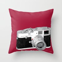 Leica M1 Throw Pillow