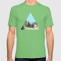 Blue Skies Mens Fitted Tee Grass SMALL