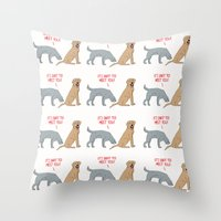 Sniff To Meet You Throw Pillow
