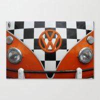VW Checkers Canvas Print