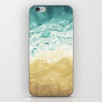 Minimalist Shore - Beach… iPhone & iPod Skin