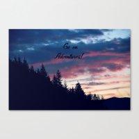 Go On Adventures! Canvas Print