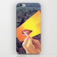 Pleasure Correlation Upgrade iPhone & iPod Skin