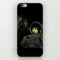 Space Horror iPhone & iPod Skin