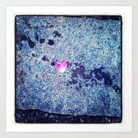 Heart Blossom Art Print