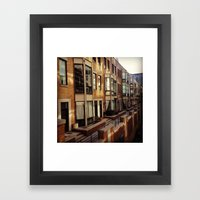 Chicago Housing Framed Art Print