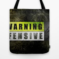 Lockout: Warning Offensive (MS-ONE) Tote Bag