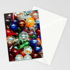 Glass Balls Stationery Cards