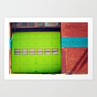 Loading Bay Art Print