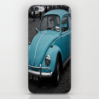 Beetle Blues iPhone & iPod Skin