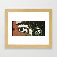 You. Framed Art Print
