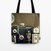 Vintage Camera Collectio… Tote Bag