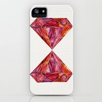 iPhone 5s & iPhone 5 Cases featuring Million-Carat Ruby by Cat Coquillette