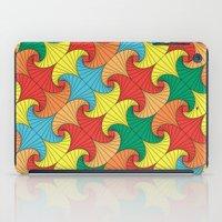 Dancing squares iPad Case