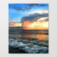 Madeira Beach Sunset 2 Canvas Print