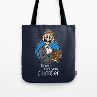 How I Met Your Plumber Tote Bag