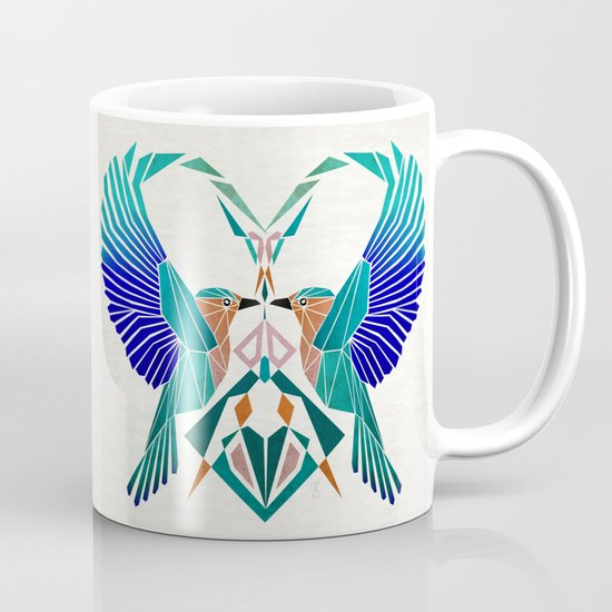 couple of blue birds Mug