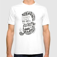 Absurd Mens Fitted Tee White SMALL