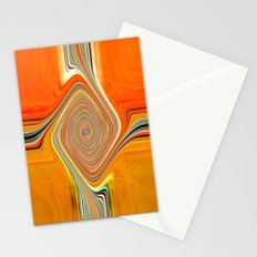 Abstract.Orange+Lemon. Stationery Cards