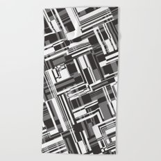 Geotetric Beach Towel