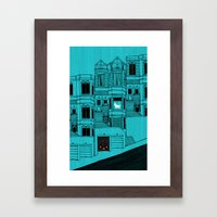 The Expectation Of Livin… Framed Art Print