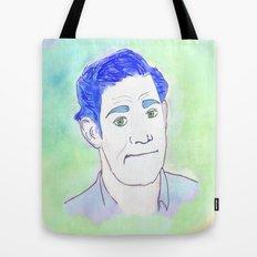 Jim Halpert Face.  Tote Bag