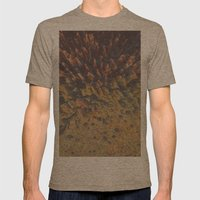 FLEW / PATTERN SERIES 008 Mens Fitted Tee Tri-Coffee SMALL