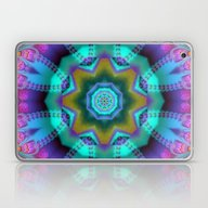 Romantic Kaleidoscope Wi… Laptop & iPad Skin