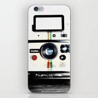 Shake it like a Polaroid picture iPhone & iPod Skin