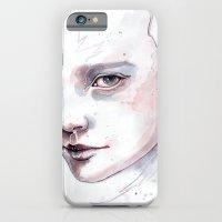 Frozen, quick watercolor portraiture iPhone 6 Slim Case