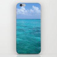 Caribbean Blues iPhone & iPod Skin