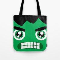 Adorable Hulk Tote Bag