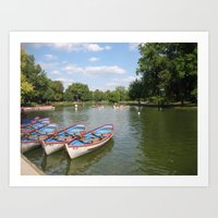 Lac Daumesnil Art Print