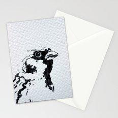 Upwind attitude Stationery Cards
