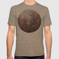 Strange Spring Mens Fitted Tee Tri-Coffee SMALL