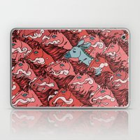 RUN! DONKEY RUN! Laptop & iPad Skin