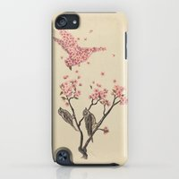 iPod Touch Cases featuring Blossom Bird  by Terry Fan