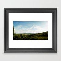 Tuscan Hills 2 Framed Art Print