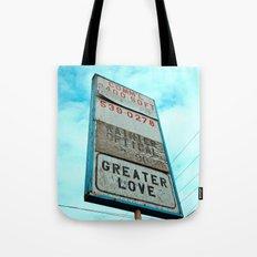 Greater love Tote Bag